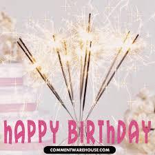 birthday sparklers happy birthday sparklers glitter graphic commentwarehouse