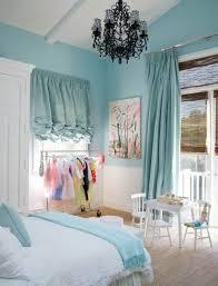 Girls Room Chandelier Kids Bedroom Captivating Blue Little Bedroom Decoration