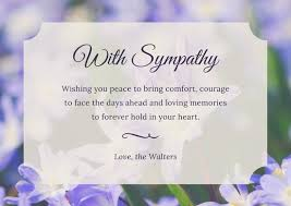 sympathy cards card for condolences sympathy card templates canva we like design