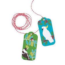 australian christmas gift tag pack bits of australia