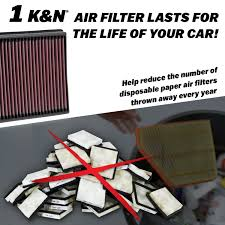 nissan altima 2005 ac recharge amazon com k u0026n 33 2031 2 high performance replacement air filter