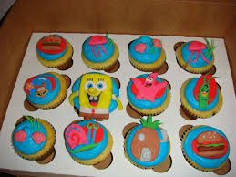 our decorated cakes and cupcakes spongebob squarepants cupcakes