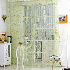 Multi Colored Curtains Aliexpress Com Buy 2017 New Small Floral Colored Curtains