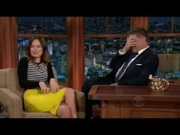 gorgeous olivia wilde reveals her tattoo craig ferguson tramp