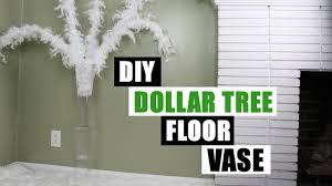 Home Decor Tree Diy Dollar Tree Floor Vase Dollar Store Diy Floor Vase Diy Glam
