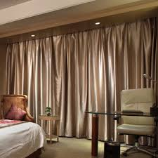 decent spun gold jacquard light coffee thermal blackout curtains