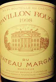 chateau margaux i will drink 1998 pavillon du château margaux bordeaux médoc