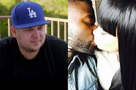 blac chyna leaked rob kardashian is under investigation for threatening a guy who
