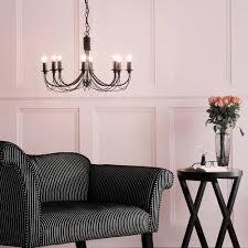 Black Chandelier Lamps Seductive Somerset Chandelier Light Black From Litecraft Black