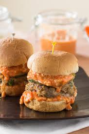 aligator cuisine alligator sausage sliders with roasted pepper remoulade chili