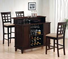 pub style dining room set furniture round bar height table stools stool and sets www