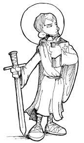 saint paul apostle catholic coloring feast