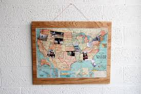Carry Usa Map by How To Make A Diy Photo Map Travel Channel Blog Roam Travel