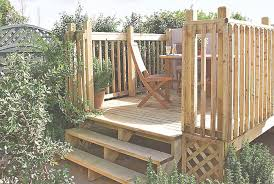 Decking Ideas For Sloping Garden How To Build A Raised Deck Ideas Advice Diy At B Q