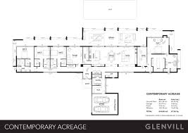 the bel air contemporary by glenvill custom homes from 850 000
