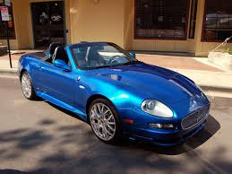 maserati blue maserati gransport spyder blue by partywave on deviantart