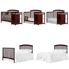 Are Convertible Cribs Worth It On Me Niko 5 In 1 Convertible Crib With Changer In Espresso