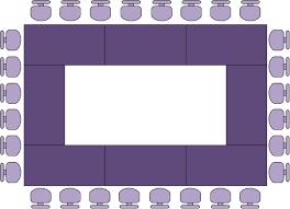 layout ruang rapat yang baik tata letak ruangan untuk presentasi
