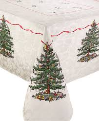 spode tree tablecloth created for macy s 60 x 120