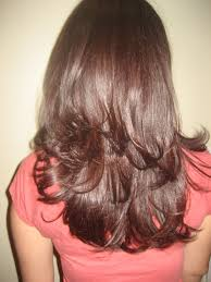 long wavy natural haircuts for women back view google search