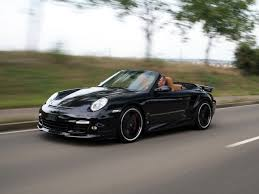 2008 porsche 911 turbo cabriolet 2008 techart porsche 911 turbo cabriolet front and side speed