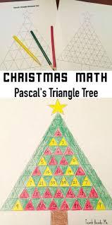 pascal u0027s triangle christmas tree math christmas math math and