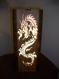 laser cut dragon lamp u2013 laser designs engraving