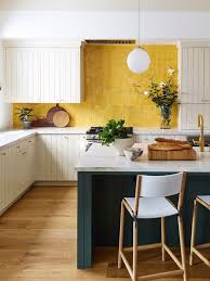 yellow kitchen walls white cabinets 50 bright green and yellow kitchen designs digsdigs