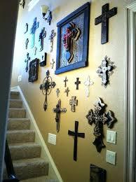 wall decor crosses metal cross wall decor christian cross wall decor steel drum metal