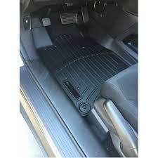 weathertech jeep wrangler floor liner jeep wrangler jk 14 15 black front pair
