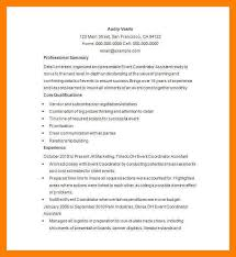 events coordinator resume event manager resume sample event manager resume templates