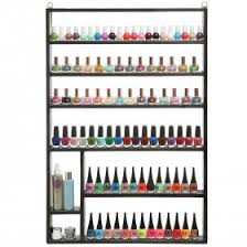 wall mounted nail polish racks mygift