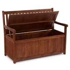 storage bench outdoor treenovation