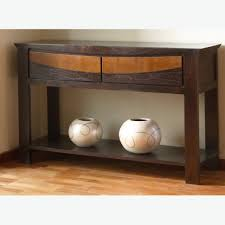 furniture modern console table with storage stylish modern