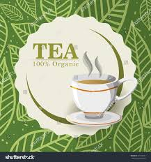 tea time concept tea cup design stock vector 325708952 shutterstock
