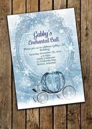 princess party invitations cinderella princess birthday party