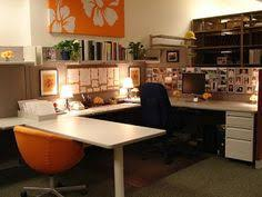 how to decorate your office at work add a l to create cubicle office spaces and cube