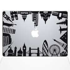 World Map Decal by Around The World Monuments Macbook Decal The Decal Guru