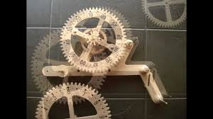 Free Wooden Gear Clock Plans Download by Clayton Boyer Genesis Wooden Gear Clock Solid Oak Youtube