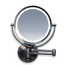makeup mirror 10x magnification with light captivating zadro next generation led 1x 10x magnification wall