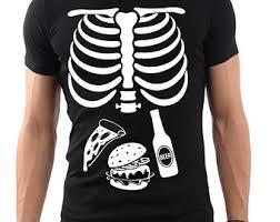 Pregnancy Halloween Costumes Skeleton Skeleton Shirt Etsy