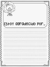 How To Say Thanksgiving In Spanish Spanish Thanksgiving Coloring Sheet On Http Spanglishbaby Com