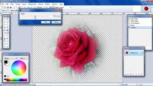 paint net fade edges using alpha blur youtube