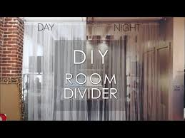 How To Divide A Room Without A Wall Diy Room Divider Youtube