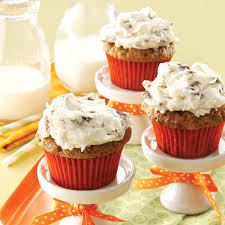 thanksgiving cupcakes for kids carrot cupcakes recipe taste of home