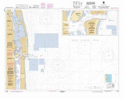 Palm Beach Map Noaa Releases New Nautical Chart For The Port Of Palm Beach