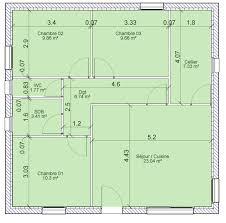 calcul surface utile bureaux calcul surface habitable maison individuelle exemple decoupage
