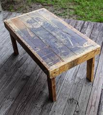 reclaimed wood diver coffee table home furniture shipyard ink