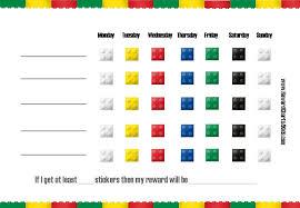 printable chart template free printable blank charts behavior