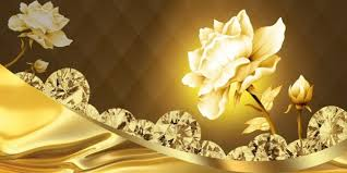 gold flowers golden diamond flowers android apps on play